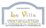 Bungallows La Villa