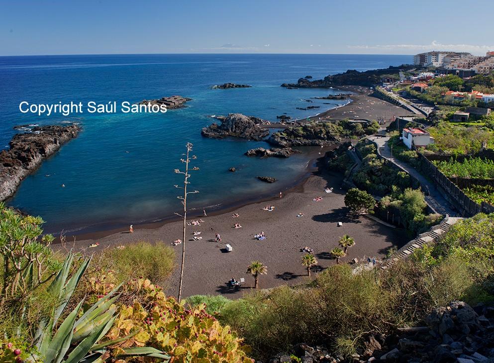 Soleil et plage toute l'annéeLes plages de La Palma sont reconnues pour leur propreté et la pureté de l'eau.
